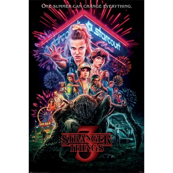 Stranger Things 3, Maxi Poster - Summer of 85 multifärg
