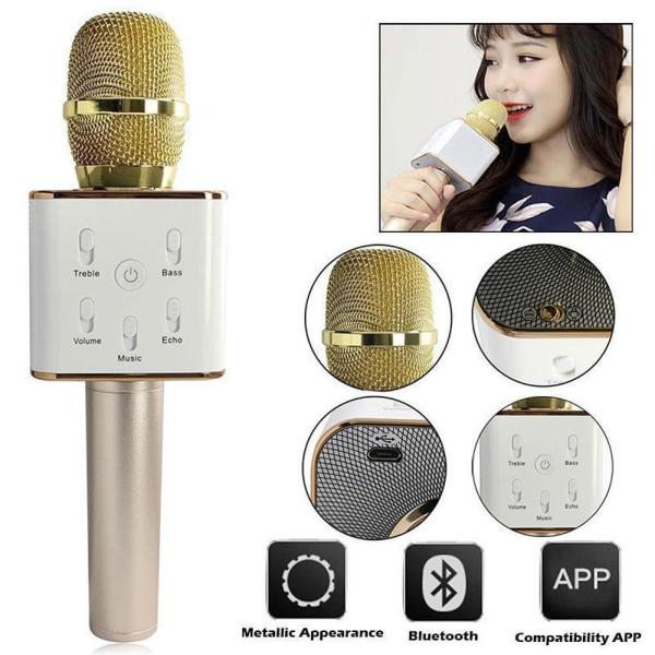 KTV Karaoke Mikrofon Black