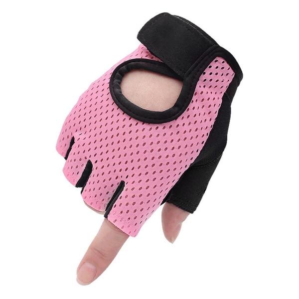 Fitness Käsineet, Vaaleanpunainen - L Pink L