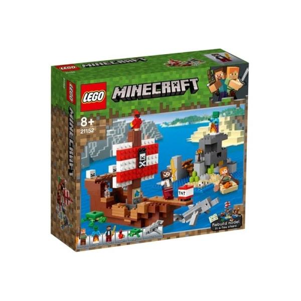 LEGO Minecraft - Piratskibseventyret Multicolor