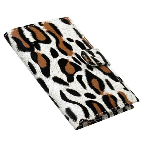 Passfodral, Leopard - Beige multifärg