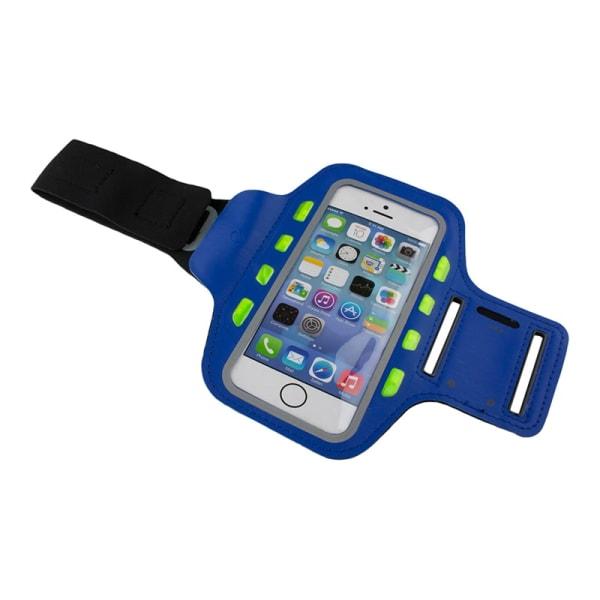 LED urheiluranneke älypuhelimeen - Sininen Blue