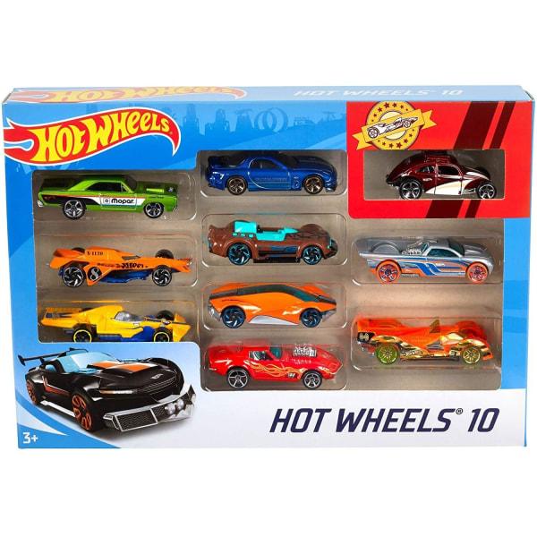 10x Hot Wheels Leksaksbilar - Säljs Slumpvis multifärg