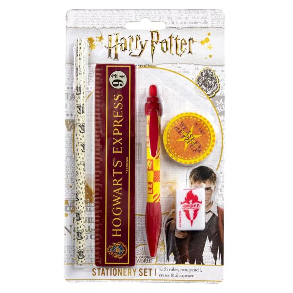 Harry Potter, Kirjoitussetti - 5 Osaa Multicolor