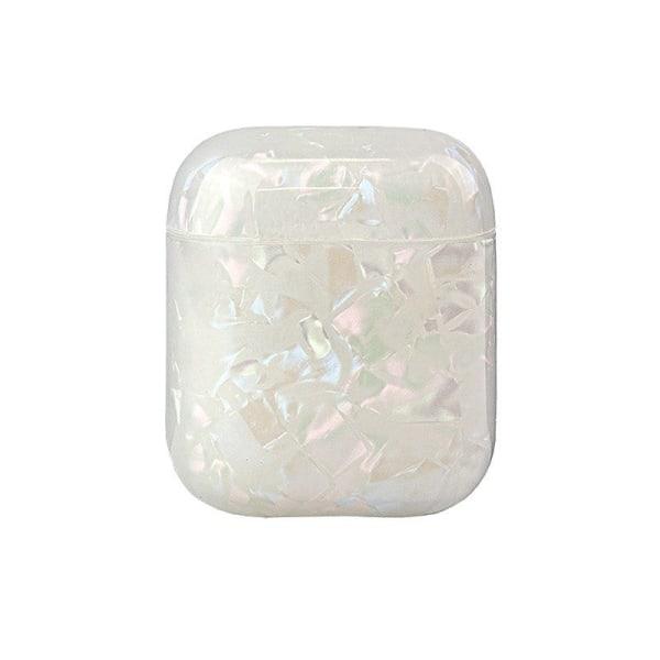 Suojakotelo AirPods - Valkoinen Kristalli White