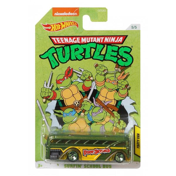 Hot Wheels Teenage Mutant Ninja Turtles - Party Van multifärg