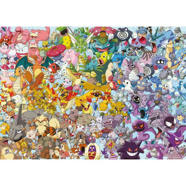 Pokémon, Pussel - Första generationen - 1000 Bitar multifärg