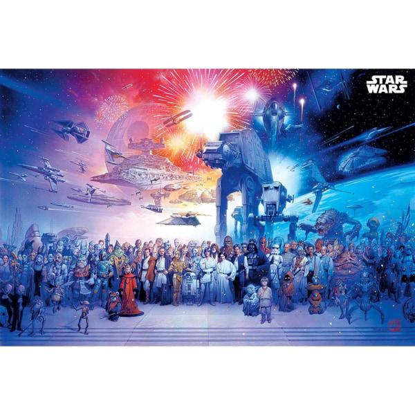 Star Wars, Maxi Poster - Universe multifärg