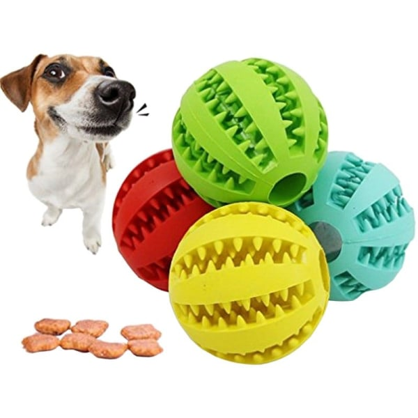 Bitleksak för hundar - Röd Röd