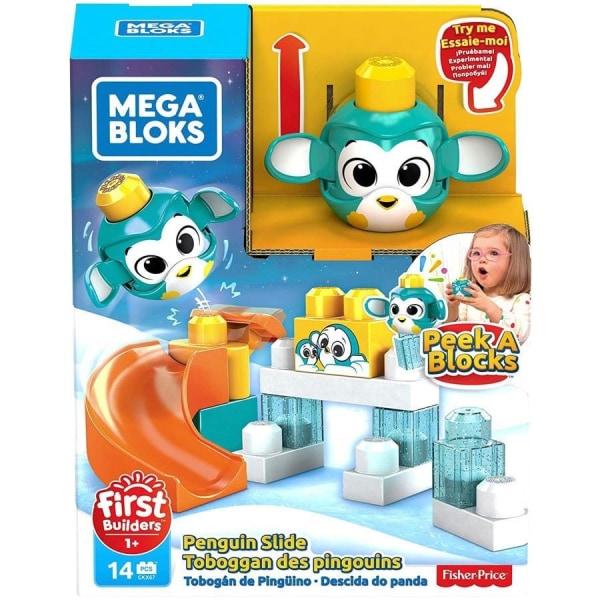 Fisher-Price, Mega Bloks Lekset - Pingvin multifärg