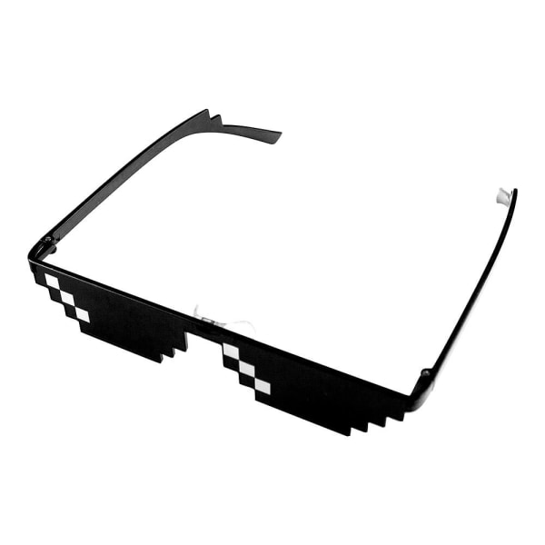 Pixelglasögon, 1 streck Svart