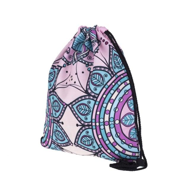 Gymnastikpose - Mandala Nr. 1 (39x33cm) Multicolor
