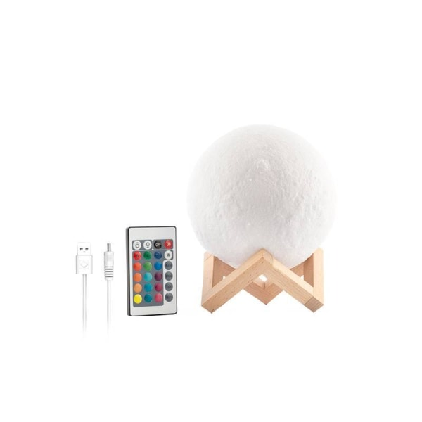 LED Månlampa multifärg