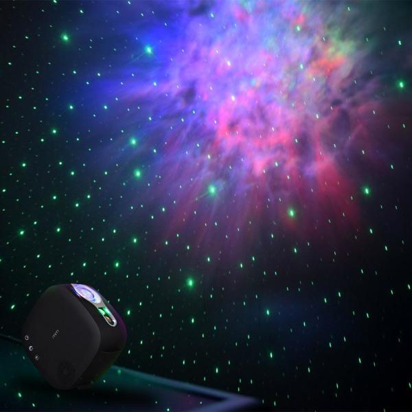 Laserprojektor med Högtalare - Galax Svart