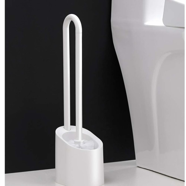 WC-harja magneettisella pidikkeellä White