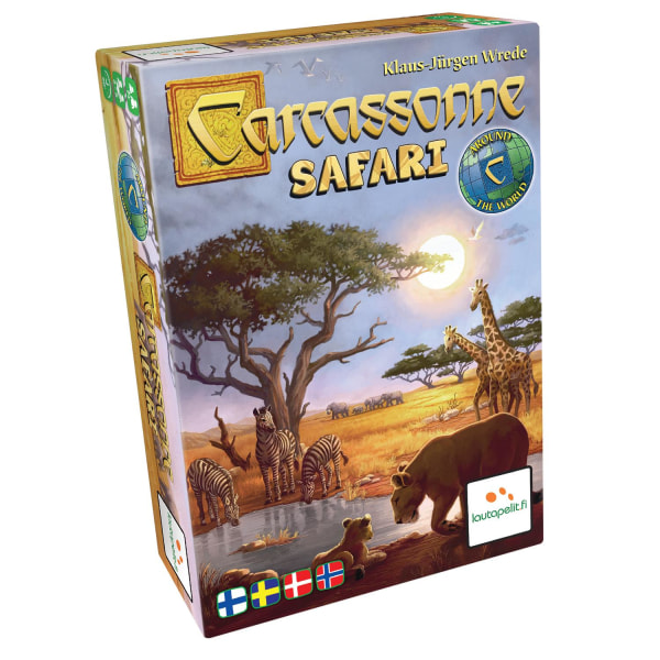 Carcassonne Safari - Sällskapsspel multifärg