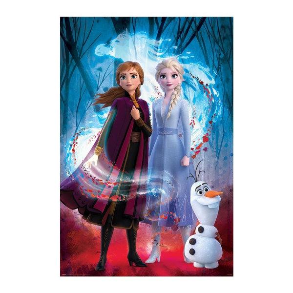 Frozen 2 / Frost 2, Maxi Poster - Guided Spirit multifärg