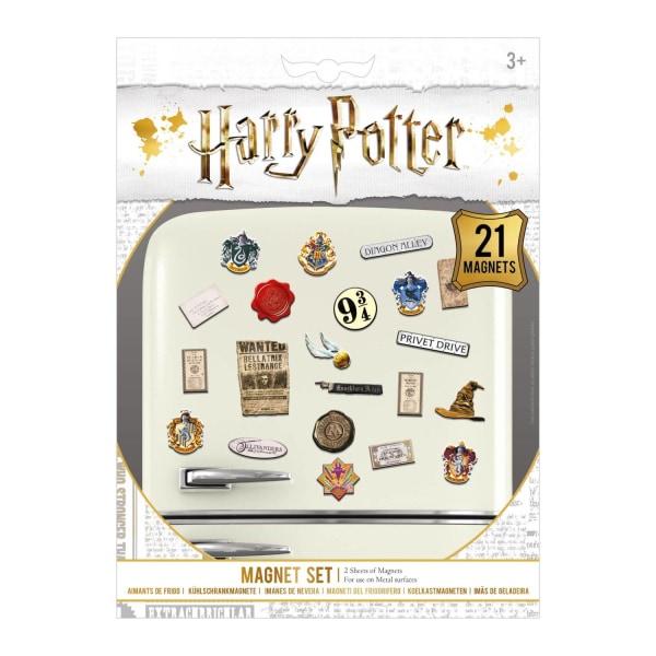 Harry Potter, 21x Magneter multifärg