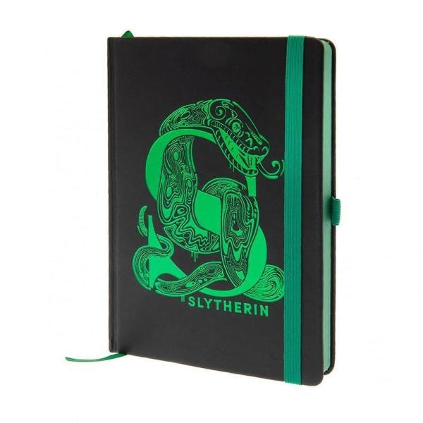 Premium A5 Notesbog - Harry Potter, Slytherin Black