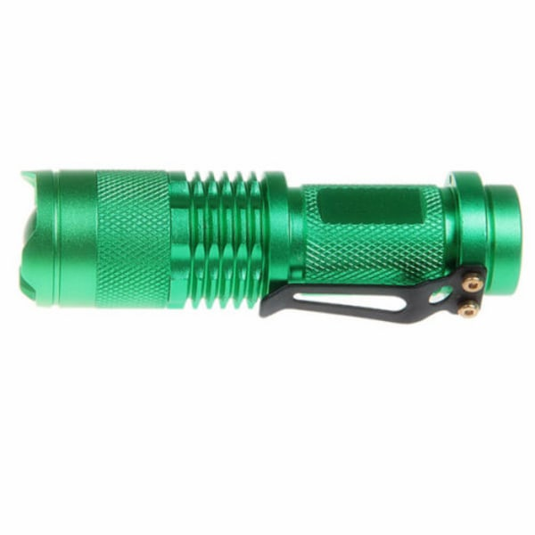LED Ficklampa CREE Ultrafire - Grön Grön