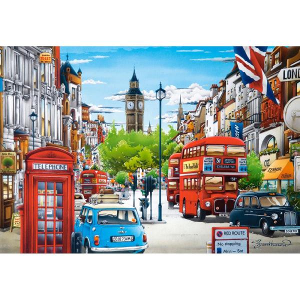 Castorland, Pussel - London - 1500 Bitar multifärg