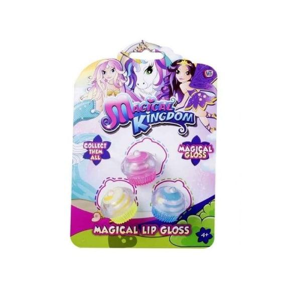 Magical Kingdom Läppglans - Cupcake multifärg