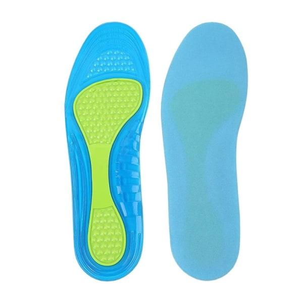Fleksibel indersål med støtte til dem med hulfod  Blue S