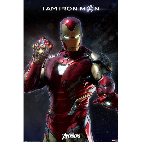 Avengers Endgame, Maxi Poster - Iron Man multifärg