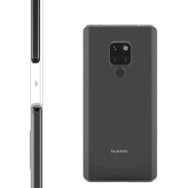 Huawei Mate 20 Pro - Läpinäkyvä Silikonikuori Transparent