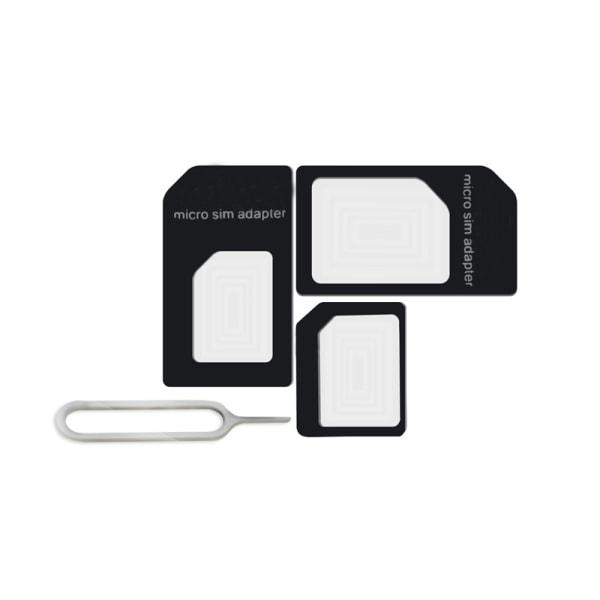 Noosy SIM-kort konverter til Nano SIM-kort Black