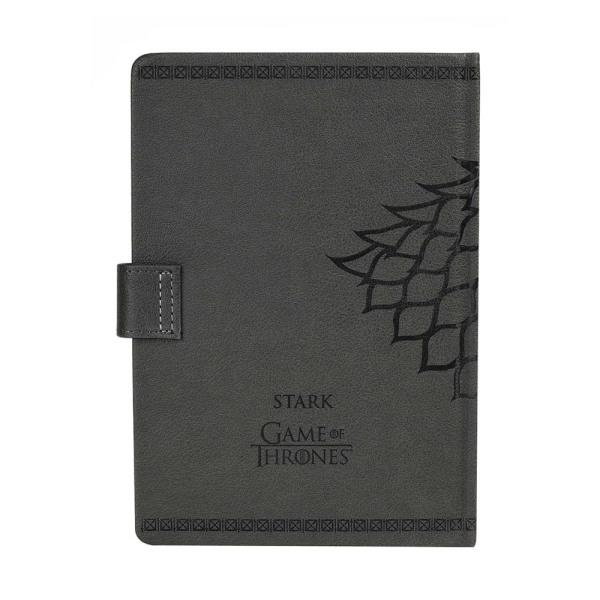 Game of Thrones, Muistikirja - House Stark Grey