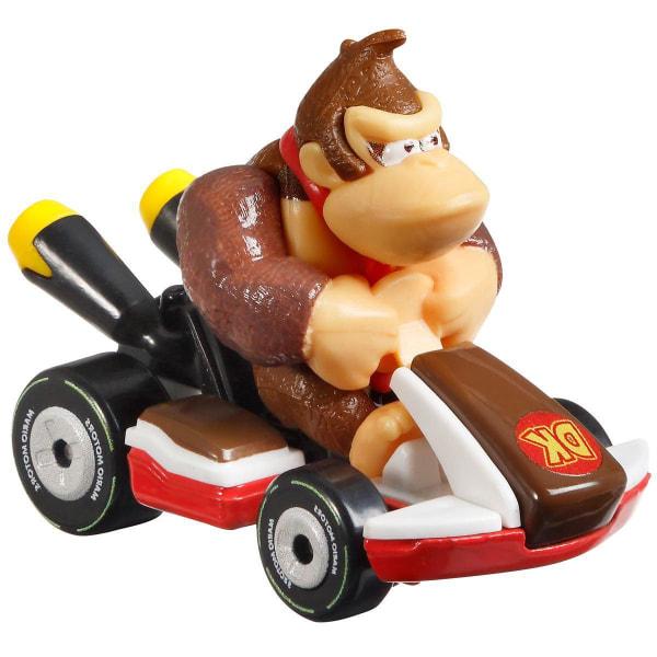 Hot Wheels Mario Kart - Donkey Kong Standard Kart multifärg