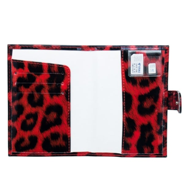 Pasholder, Gepard - Rød Multicolor