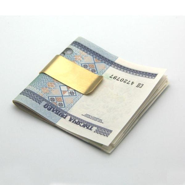 Klemme / Money Clip - Guld Gold