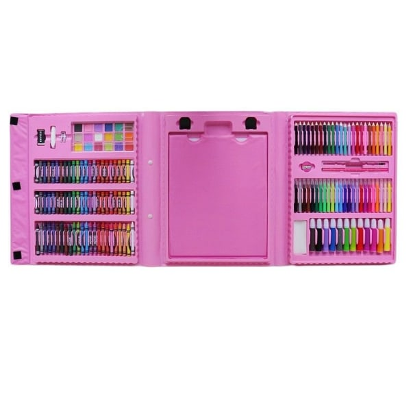 Maalauslaatikko lapsille, 176 osaa - Pinkki Pink