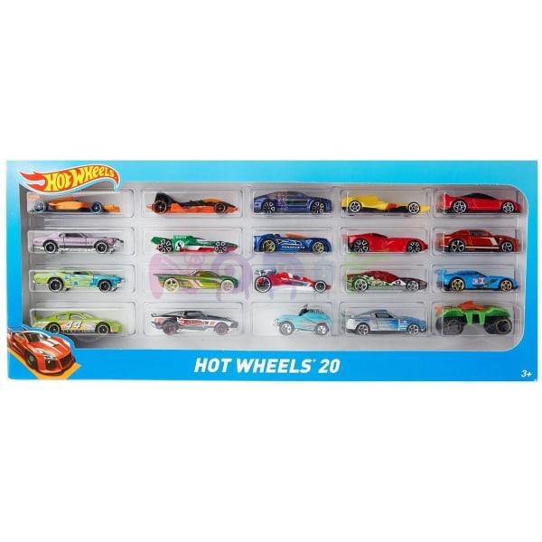 20x Hot Wheels Leksaksbilar - Säljs Slumpvis multifärg