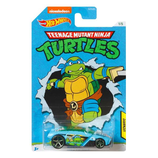 Hot Wheels Teenage Mutant Ninja Turtles - Leonardo multifärg