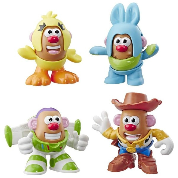 Toy Story 4, 4x Hahmot - Mr. Potato Head Multicolor