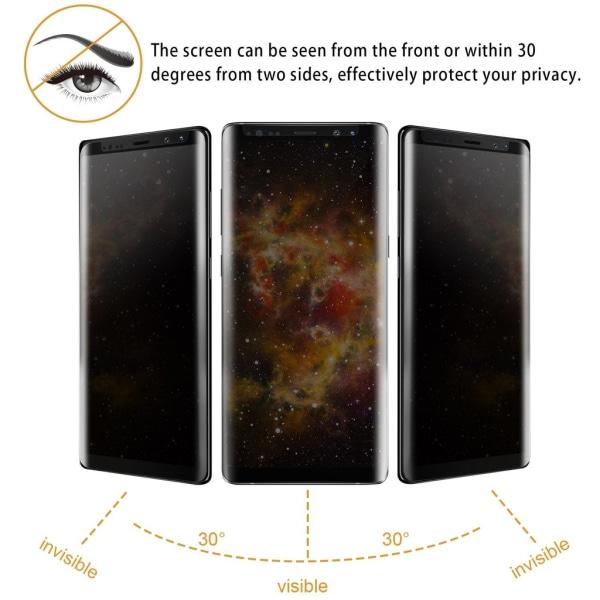 Privacy Näytönsuojus, Samsung - Karkaistusta Lasista Transparent S9 Plus