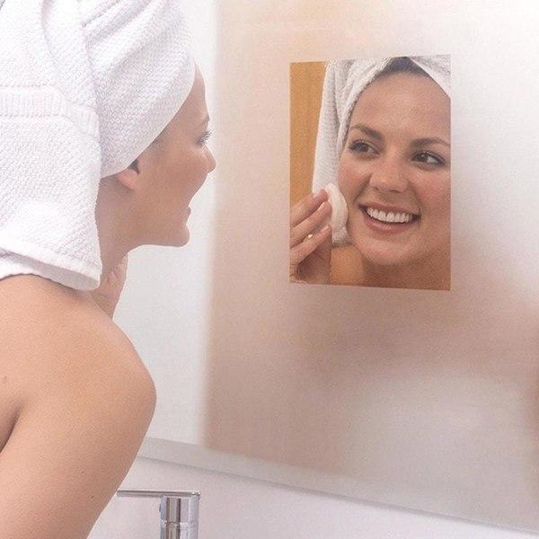 Huurunestokalvo kylpyhuonepeiliin Transparent