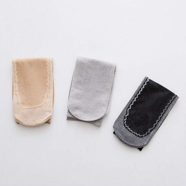 Ohuet naisten sukat kompressiolla Black one size