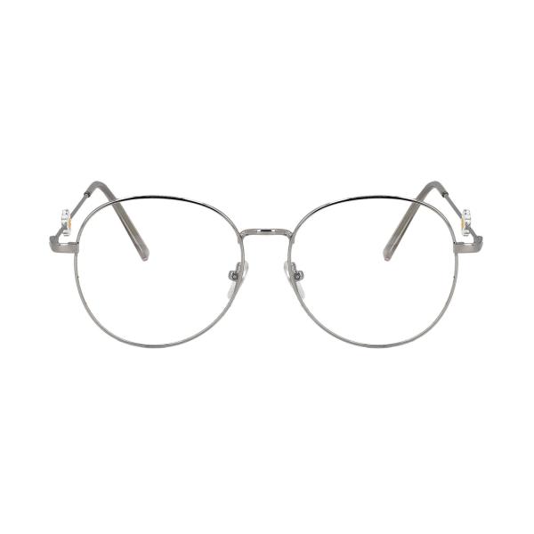 Northio, Anti Blue Light Glasögon - Blomma - Silver Silver one size