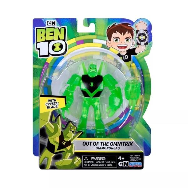 Ben 10, Actionfigur - Out of the Omnitrix Diamondhead Multicolor