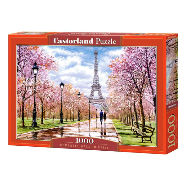 Castorland, Pussel - Walk in Paris - 1000 Bitar multifärg