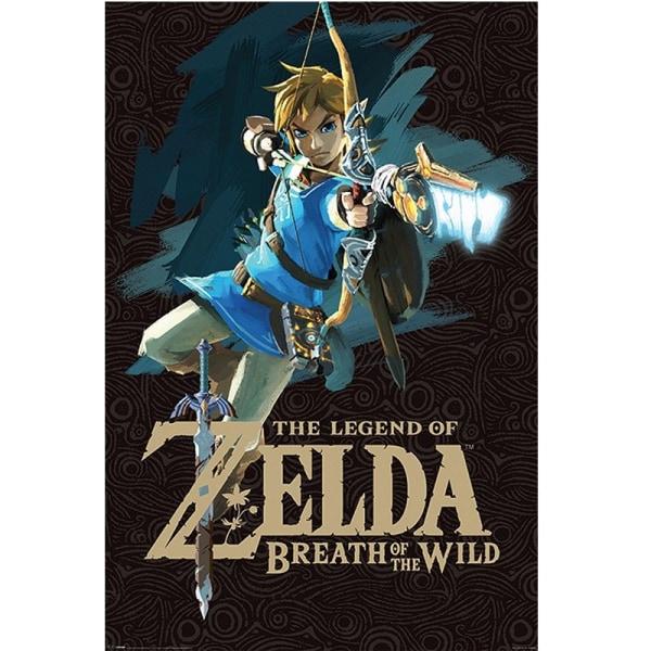Zelda, Maxi Poster - Link (Breath of the Wild) multifärg