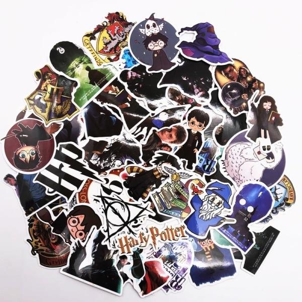 Klistermärken, 50 pack - Harry Potter multifärg