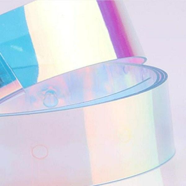 Holografisk damebælte, 110 cm Multicolor one size