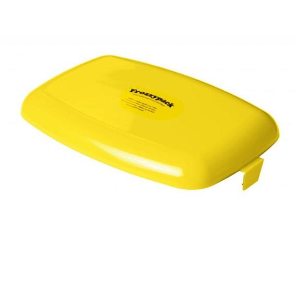 Frozzypack, Låg til 1.2 L Madkasse - Gul Yellow