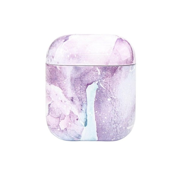 Suojakotelo AirPods - Violetti Vedenväri Purple