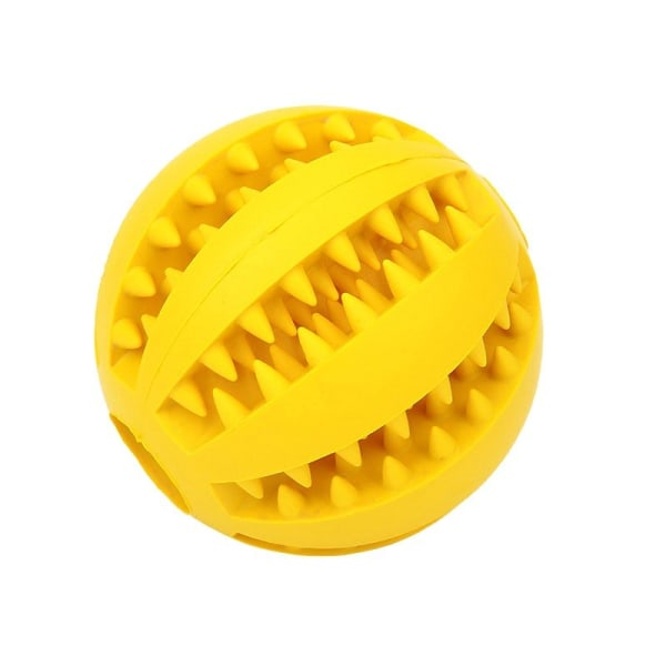 Bidelegetøj til hunde - Gul Yellow